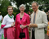 Enjoying the Morris Arboretum Moonlight and Roses Gala are, from left, Nancy Evans, Maria Thompson and Rusty Miller June 5, 2015.<br /> Bob Raines--Montgomery Media