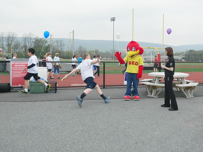 Photos by Shea Singley. Relay Field Day program at Hamburg Area Middle School.