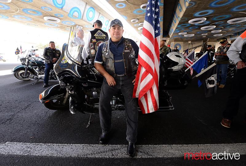 Efren Ayala - Captain of the Patriot Guard Riders (San Jose)