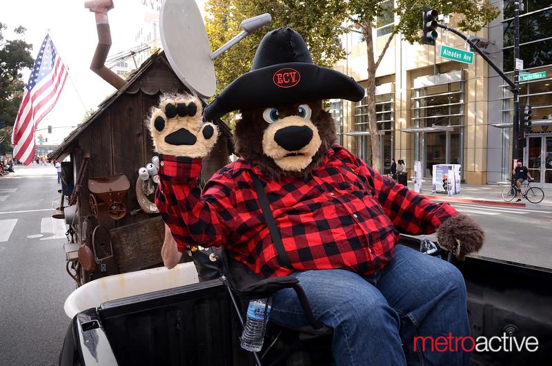 Charlie Dbayr (da Bear) of E Clampus Vitus - San Jose Chapter