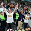 Joey Chestnut wins the contest with 81 Waffles consumed