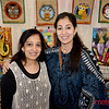 (L) Suneet and Chania Bhatia of San Jose are vending at the 2019 San Jose Craft Holiday Fair