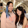(L) Maggie Yue and Vivian Ho of San Jose at the 2019 San Jose Craft Holiday Fair