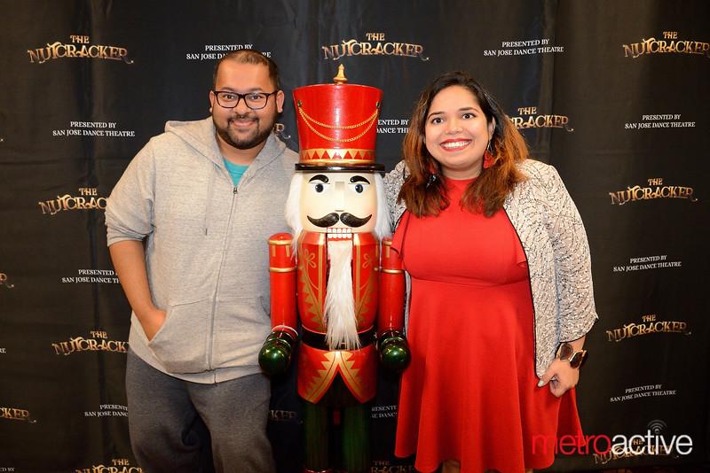 Arnab Sarkar of Foster City and Deepti Bahel of Santa Clara - NutCracker at the San Jose Center for the Performing Arts