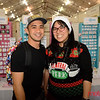 Chris and Eileen Ma of Santa Clara at the 2019 San Jose Craft Holiday Fair