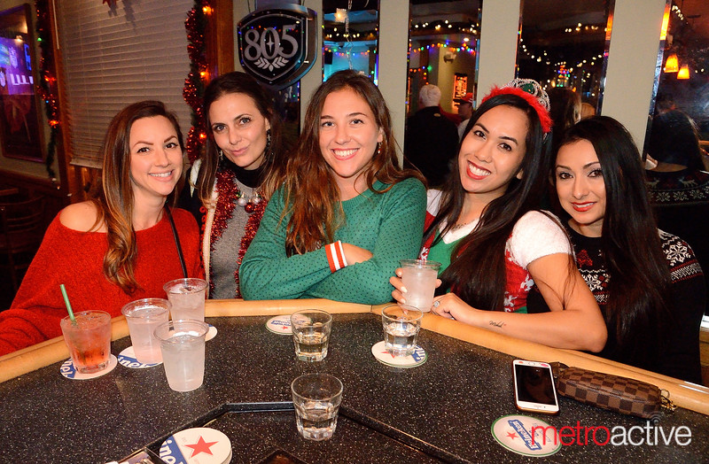(LtoR) Nina Thompson, Michelle Scheumeister, Rachael Leone, Sheryl Fortuna and Stephanie Moreno - Goosetown Willow Glen