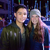 Aidan Inoue of San Jose and Katie Knol of Los Gatos at Downtown ICE