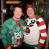 (L) Todd Nelson and Robert Robledo both of San Jose - LGBTQ Counsil's Ugly Holiday Sweater Party at the Capital Club