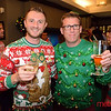 Alec Polishchuk of San Jose and Murray Wicks of Sunnyvale - LGBTQ Counsil's Ugly Holiday Sweater Party at the Capital Club