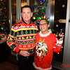 (L) Chuck Gardner and Angelo Padva both of San Jose - LGBTQ Counsil's Ugly Holiday Sweater Party at the Capital Club