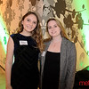 (L) Rachel Bontempi of Half Moon Bay and Jaselin Drown of Campbell - Young Professionals Holiday Cocktail Party - San Jose Museum of Art