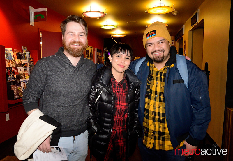 (LtoR) Chris Fitzer, Ellsea Sanchez and Jeffery Lo at the Hammer Theater