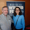 Bill and Raiida of San Jose at the Hammer Theatre for San Jose Winterfest performance of Sheléa