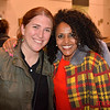 San Jose Jazz Winterfest: Melanie Gurunathan (L) and Simret Beraki at the Oshman Family JCC in Palo Alto