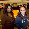 Silicon Valley Auto Show - Catherine Only (L) and Hg Nguyen of San Jose