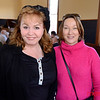 Kim Parker of Milpitas (L) and Janet Bocek of Mountain View enjoying the seafood at the annual Wine and Crab Feed at Burrell School Vineyards & Winery - Los Gatos