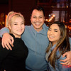 (LtoR) Crystal Sepulveda, Leif Pilar and Dana Lazo all of San Jose enjoying a night out at The Continental Bar Lounge & Patio