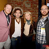 Cinequest 2020 - (LtoR) Loft Bar and Bistro with James Dickerson, Edward De Leon, Petra Vasari De Leon and Justin Cook