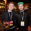 Cinequest 2020 - SP2 Patio with James C. Williamson (L) and Ryan Kruger both of South Africa