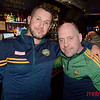 O'Flaherty's Irish Pub - Timmy Gorman (L) and Paul Corigan both of San Jose