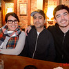 (LtoR) Melina Iglesias, Jorge Z and Daniel Young all of San Jose at Good Karma Artisan Ales & Cafe