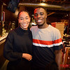 "Najah Simmons (L) and Kwame Odame both of San Jose on a ""date night"" at San Pedro Square Market"