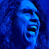 Tom Araya of thrash metal band SLAYER performed at Oakland Arena for the last time - at the end of the week the band played their final two show in L.A. to close out an almost four decade run - 26 Nov 2019
