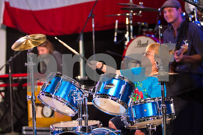Holden on the drums!          9683