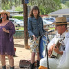 Arann Harris and band belts out the tunes at The Petaluma Mother's Club  Easter Egg Hunt at McNear Park on April 12, 2014