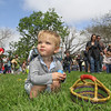 Cash Evans-Reber at The Petaluma Mother's Club  Easter Egg Hunt at McNear Park on April 12, 2014