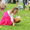 Children race to pick up eggs at The Petaluma Mother's Club  Easter Egg Hunt at McNear Park on April 12, 2014