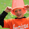 Chase Waller clowns around at The Petaluma Mother's Club  Easter Egg Hunt at McNear Park on April 12, 2014