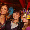 Karla Placencia, Michelle Dowling and Carolyn Williams live it up. On Monday Feb 24, 2014 The Petaluma Music Festival held a Mardi Gras fundraiser at  Lagunitas.