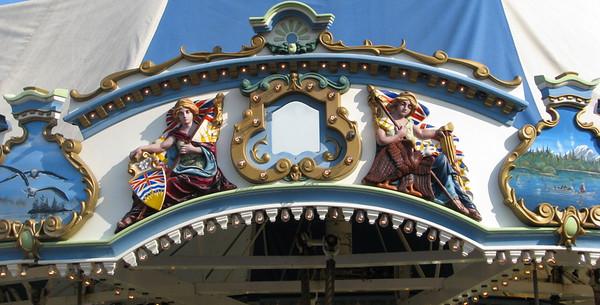 Merry-go-round detail