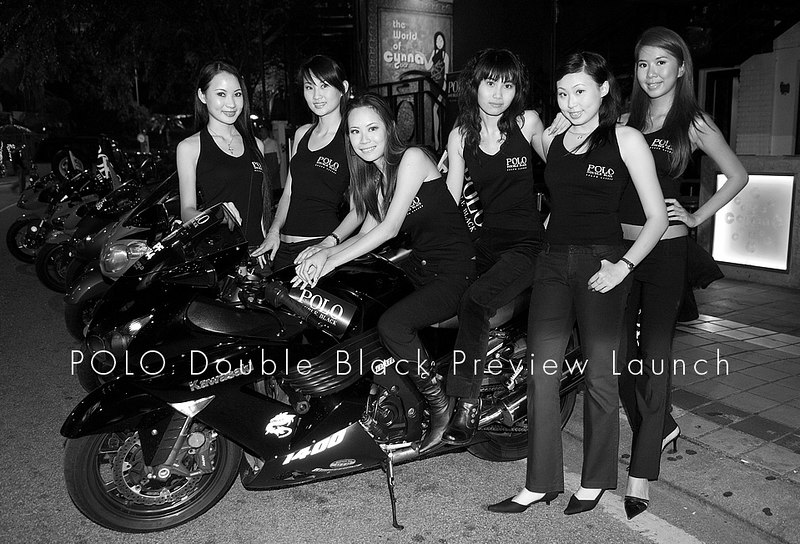 POLO Double Black preview launch at Cynna, Asian Heritage Row - 9th March 2007