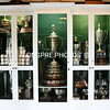 TROPHY cabinet at Santa Barbara Polo club.