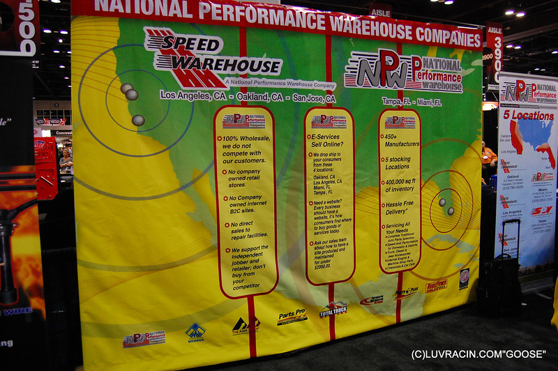 NATIONAL PERFORMANCE WHEREHOUSE COMPANIES , NPW