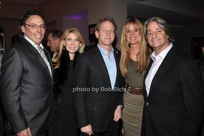 Rich Berger, Alise Ruth, Gary Ruth, Sandra Rosenthal, Larry Rosenthal photo by Rob Rich © 2011 robwayne1@aol.com 516-676-3939