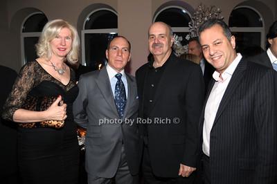 Donna Taragallo, Joe Giaco, Steve Taragallo, Ron Yeffet photo by Rob Rich © 2011 robwayne1@aol.com 516-676-3939