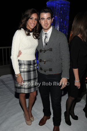 Danielle Deleasa, Kevin Jonas photo by Rob Rich © 2011 robwayne1@aol.com 516-676-3939