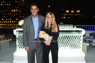 PRIVATE JET MD owners Todd Rome and Cheryl Mercuris photo by Rob Rich © 2011 robwayne1@aol.com 516-676-3939