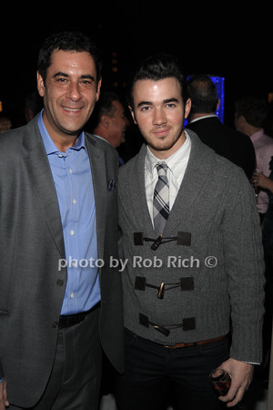 Todd Rome, Kevin Jonas photo by Rob Rich © 2011 robwayne1@aol.com 516-676-3939
