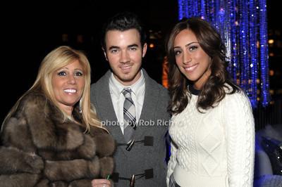 Cheryl Mercuris, Kevin Jonas, Danielle Deleasa photo by Rob Rich © 2011 robwayne1@aol.com 516-676-3939