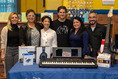 2018_10_11, Aida Ramirez, Apple, Giveaway, Maggie Senor, Mario Varuzza, Matthew Reich, Mili Bonilla, Nearpod, New York, NY, PS25, Toleda-Guerrero, Yamaha, Audio-Technica, Neutrik, Copperpeace, K&M, OWC