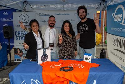 2019_10_11, Audio-Techinca, Bronx, Gabe Smith, Giveaways, Mario Varuzza, NY, OWC, Principal Toledo-Guerrero, PS25, Tents, Yamaha, Neutrik, Names