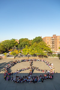 2019_09_25, Flushing, NY, PS/MS 200, Peace Sign