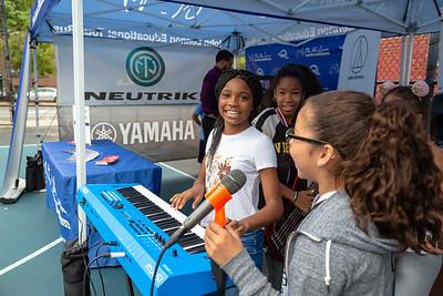 2018_09_21, Audio-Technica, Flushing, Neutrik, New York, NY, PSMS200, Tents, Yamaha