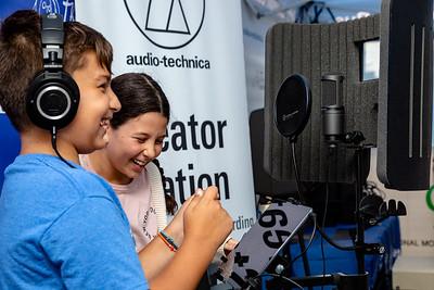 2018_09_21, Audio-Technica, Creator Station, Flushing, New York, NY, PSMS200, Tents
