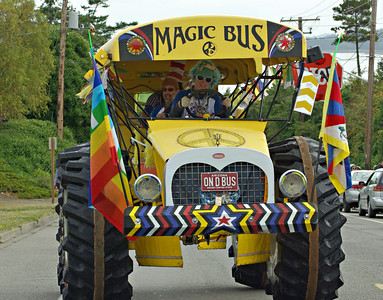 When the driver of the Magic Bus says, lay down!