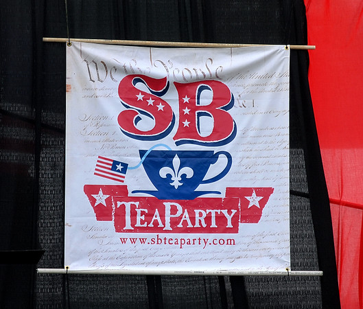 SHREVEPORT-BOSSIER TEA PARTY 7-4-09
